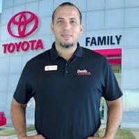 Juliano Kerzazi at Family Toyota of Arlington