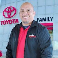Ivan Carpio at Family Toyota of Arlington