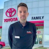 Matt Luck at Family Toyota of Arlington