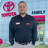 Miguel Caballero at Family Toyota of Arlington