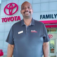 Earnest Oliver at Family Toyota of Arlington