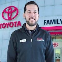 Juan Montiel at Family Toyota of Arlington