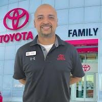 Jorge Olivera at Family Toyota of Arlington