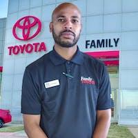 Faheem Darville at Family Toyota of Arlington
