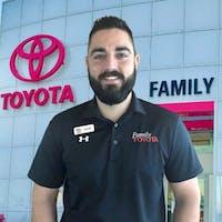Daniel Youssefzadeh at Family Toyota of Arlington