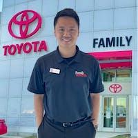 Khoa Nguyen at Family Toyota of Arlington