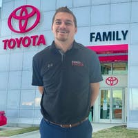 Cody Nelson at Family Toyota of Arlington