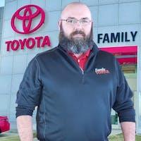 Jim Palmer at Family Toyota of Arlington