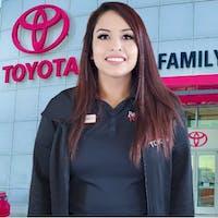 Vannessa Obregon at Family Toyota of Arlington