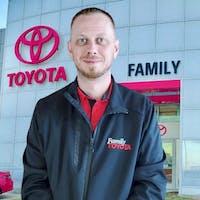 TJ Hamilton at Family Toyota of Arlington