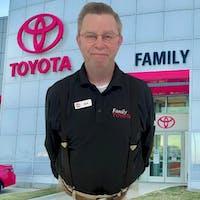 Bob Goodwin at Family Toyota of Arlington