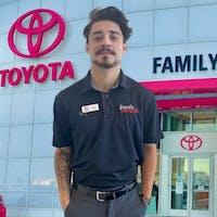 Alex Salinas at Family Toyota of Arlington