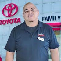 Joel DeLeon at Family Toyota of Arlington