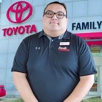 Christian DeLeon at Family Toyota of Arlington