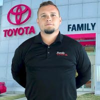 Ronnie Beck at Family Toyota of Arlington