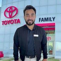 Romel Howlader at Family Toyota of Arlington