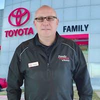 Andrei  Mihailescu at Family Toyota of Arlington