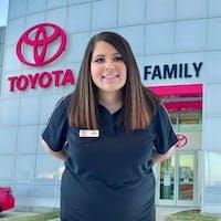 Nicole Okinaga at Family Toyota of Arlington