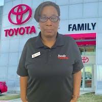 Alfreda Stewart at Family Toyota of Arlington