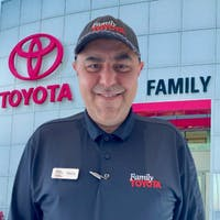 Reza Zakeri at Family Toyota of Arlington