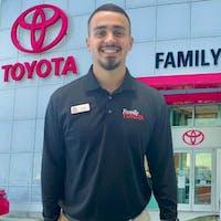 Austin Rios at Family Toyota of Arlington