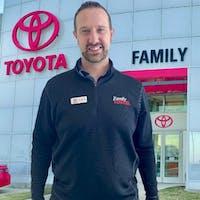 Patrick Barrigan at Family Toyota of Arlington