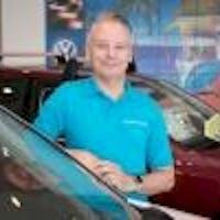 Darren  Bruno at Donaldsons Volkswagen
