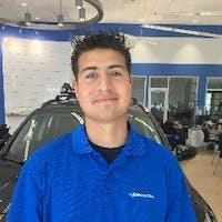 Juan Delgado at Larry H. Miller Downtown Honda Spokane