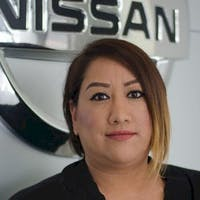 Yvonne Ruiz at Nissan of Downtown L.A.
