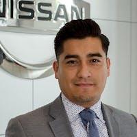 Rafael Rios at Nissan of Downtown L.A.