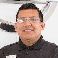 Richard Cabrera at Nissan of Downtown L.A.