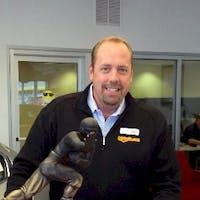 Dave  Sonneman at Ed Martin Honda