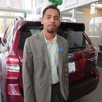 Julio Sanjuan at Subaru of Kennesaw