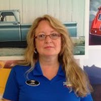 Lori Simpson  at Elkins Chevrolet