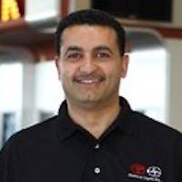 Omar Sherief at Elmhurst Toyota