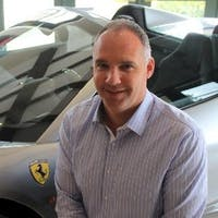 Jeff  Harley at Ferrari of San Francisco