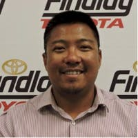 Gerry Legaspi at Findlay Toyota