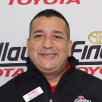 Michael Rodriguez at Findlay Toyota