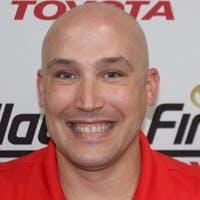 Paul  Lueth at Findlay Toyota