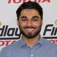 Meilad Naem at Findlay Toyota