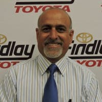 Mo Rezaei at Findlay Toyota