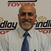 Mo Rezaei at Findlay Toyota