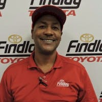 James Frieson at Findlay Toyota