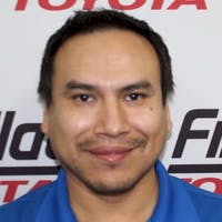 Gaspar Jimenez at Findlay Toyota