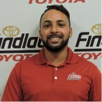 John Estrella at Findlay Toyota