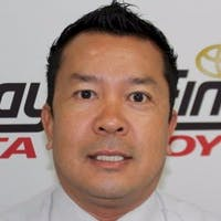 Tai Kingon at Findlay Toyota