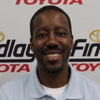 George Kweyma at Findlay Toyota
