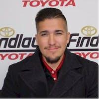 Joe Griego at Findlay Toyota
