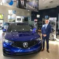 Joe Urteaga  at Acura Of Pembroke Pines