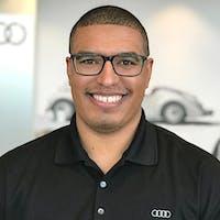 Carlos D'Oleo at Flemington Volkswagen Audi Porsche - Service Center